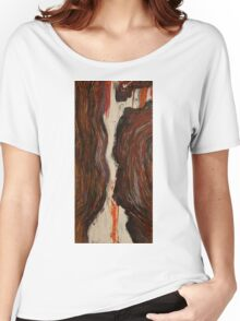 Abstract Rusted Women's Relaxed Fit T-Shirt