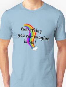Rainbow of Unicorn is everything you want from life Unisex T-Shirt