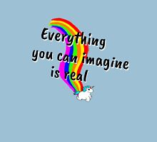 Rainbow of Unicorn is everything you want from life Womens Fitted T-Shirt