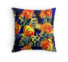 Mutating Roses #6 Throw Pillow