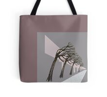 the trees that line the road home Tote Bag
