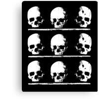 Crypt Skulls Canvas Print