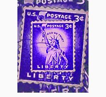 Liberty Stamp Collage Unisex T-Shirt