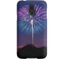 Single Firework Samsung Galaxy Case/Skin