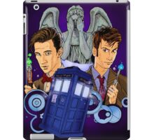 10th and 11th Doctor fan art iPad Case/Skin