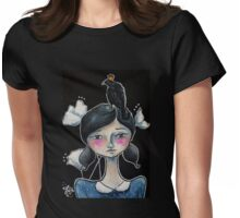 The Raven King's Gift Womens Fitted T-Shirt