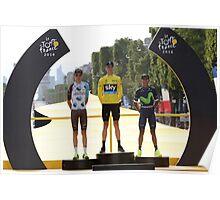 Tour de France 2016-podium Poster