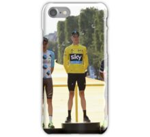 Tour de France 2016-podium iPhone Case/Skin