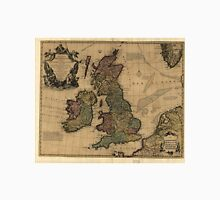 Vintage Map of The British Isles (1700s) Unisex T-Shirt