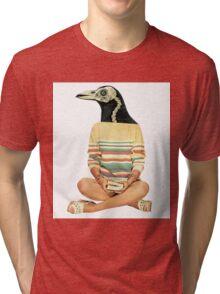 Crow head Tri-blend T-Shirt