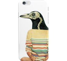 Crow head iPhone Case/Skin