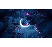 Violet Glow Photographic Print