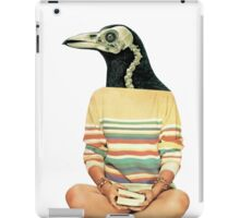 Crow head iPad Case/Skin