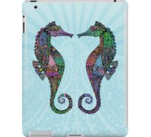 Electric Psychedelic Seahorses iPad Case/Skin