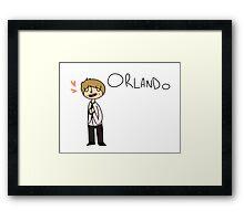 ORLDANDO Framed Print