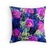 Mutating Roses #7 Throw Pillow