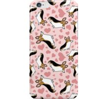 Corgi - Black iPhone Case/Skin