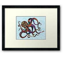 Electric Octopus Framed Print