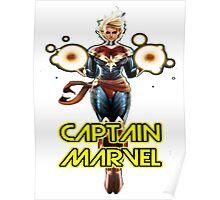 superhero captain marvel  Poster