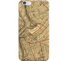Vintage Map of Brooklyn New York (1874) iPhone Case/Skin