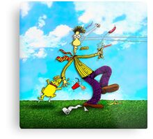Did You Ever Have One of Those Days . . . Metal Print