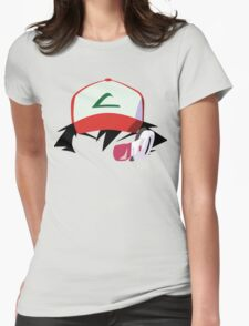 Ash with Scouter Womens Fitted T-Shirt
