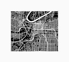 Kansas City Map - Black Unisex T-Shirt