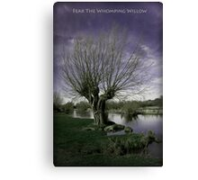 Fear The Whomping Willow Canvas Print