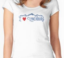 I heart Lynchburg Women's Fitted Scoop T-Shirt