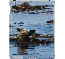 PACIFIC SEA OTTERS iPad Case/Skin