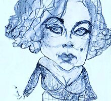 Liz Taylor circa whose afraid of Virginia Woolf by humorousart