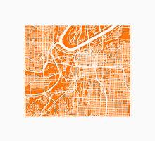 Kansas City Map - Orange Unisex T-Shirt