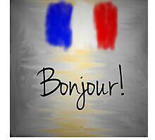 Bonjour! Photographic Print