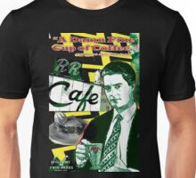 "Twin Peaks Agent Cooper ""A Damn FIne Cup of Coffee"" Unisex T-Shirt"