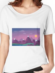 Cute Mountains Women's Relaxed Fit T-Shirt