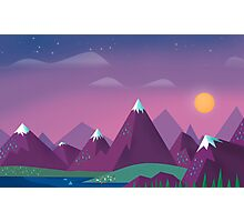 Cute Mountains Photographic Print