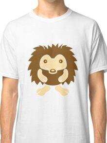 stehender süßer kleiner niedlicher igel  Classic T-Shirt