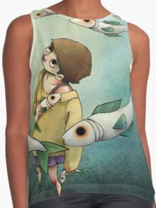 Fish Ghost Contrast Tank