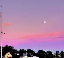 Venus's Girdle with a rising moon by Nancy Richard