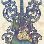 Angel Guitar by Jill Sanders