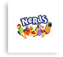 The Nerds Nerds Canvas Print
