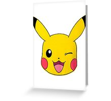 Pikachu Greeting Card