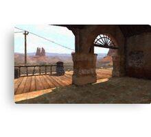 Red Dead Redemption: Madrugada Station Canvas Print