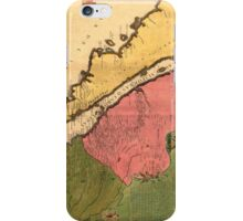 Vintage Map of California (1720) iPhone Case/Skin