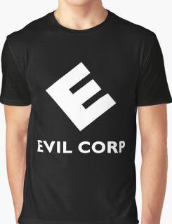 Mr. Robot Evil Corp Logo Graphic T-Shirt