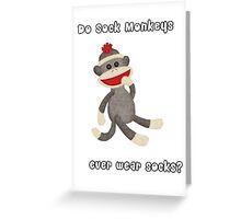 Socks? Greeting Card