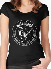Motorhead (Born to lose) Women's Fitted Scoop T-Shirt
