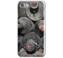 Ancient wine bottles iPhone Case/Skin