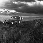 Road Closed Panorama - BW by Patrick Kavanagh
