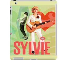 Sylvie Vartan EXCLUSIVE wonderful design! iPad Case/Skin
